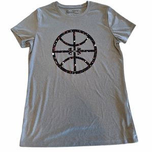 🚲 UNDER ARMOUR Girls' Youth Basketball T-Shirt
